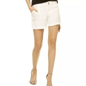 NWT 100% linen casual shorts